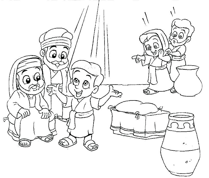 802x684 Jesus At The Temple Coloring Page In The Temple Coloring Page