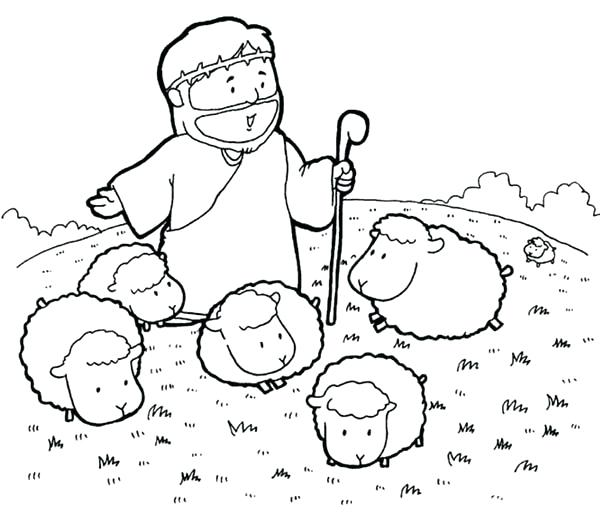 600x516 Jesus Christ Coloring Pictures The Bible Heroes Coloring Page