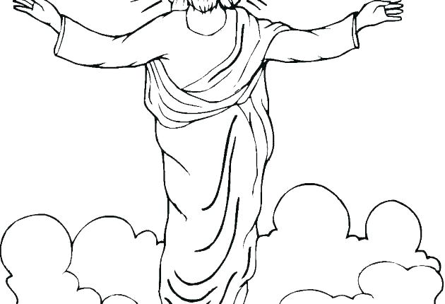 630x430 Coloring Images Of Jesus