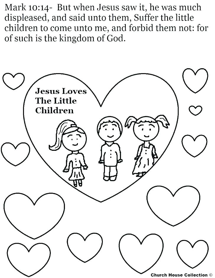 728x942 Jesus Loves Me Printable Coloring Pages Professional