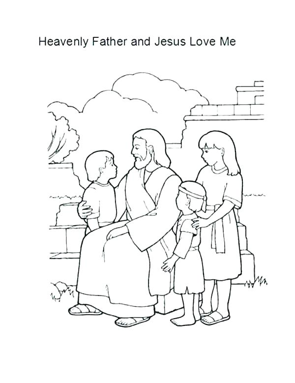 600x779 Coloring Page Jesus Bible Coloring Pages Coloring Page Of Loves Me