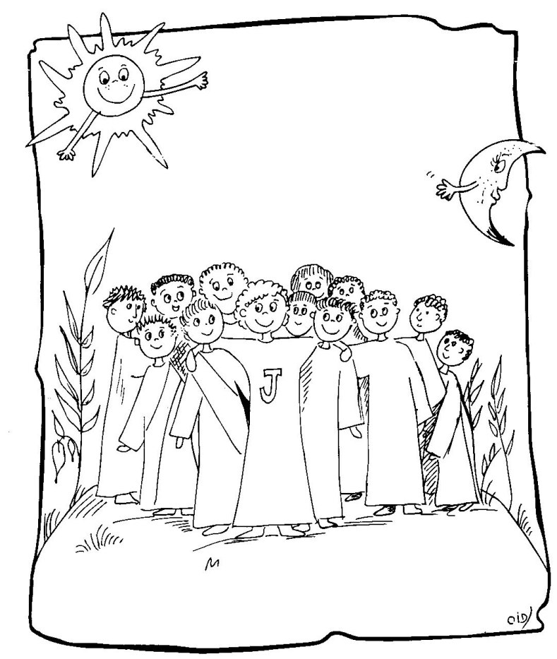 789x933 Disciple Trend Jesus And The Disciples Coloring Page