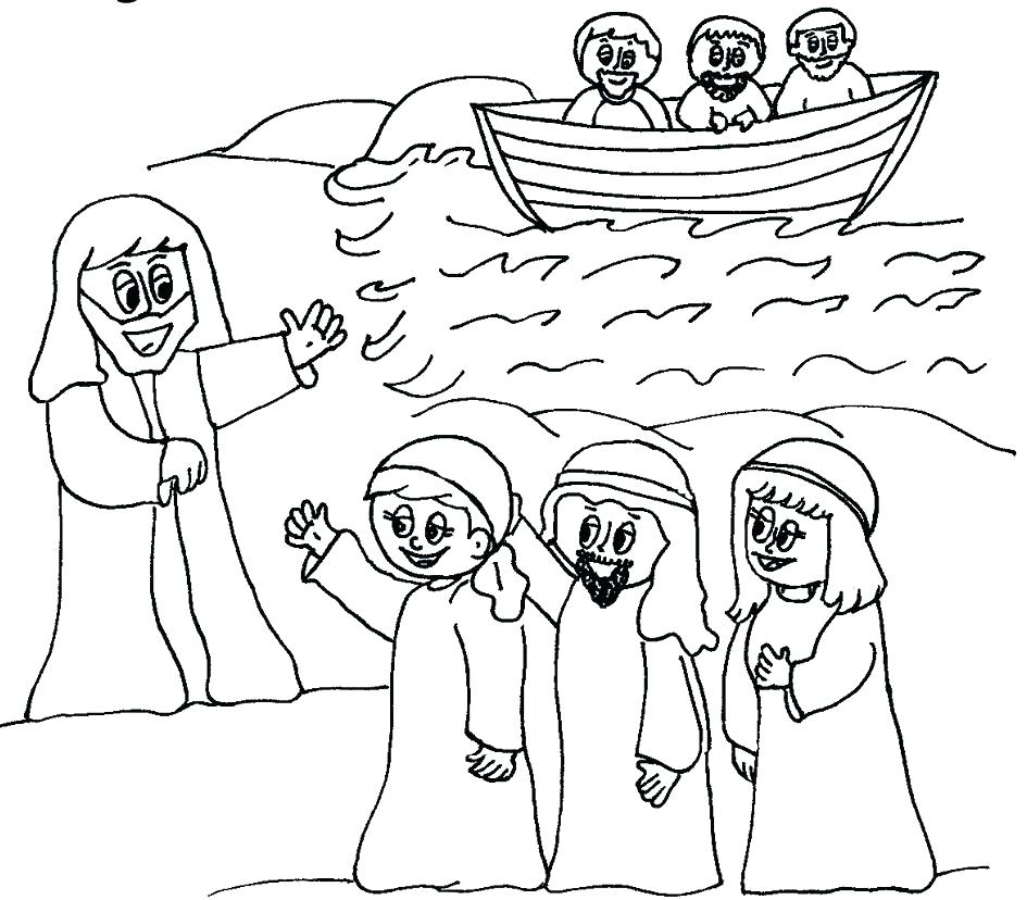 945x828 Ideas Disciples Coloring Pages Printable For Disciples Coloring
