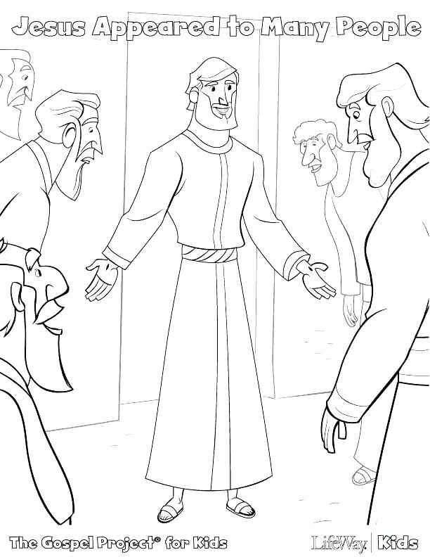 612x792 Jesus And The Disciples Coloring Pages Calls His Disciples