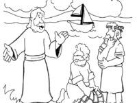 200x150 Jesus And Disciples Coloring Page Awesome Jesus And His Disciples