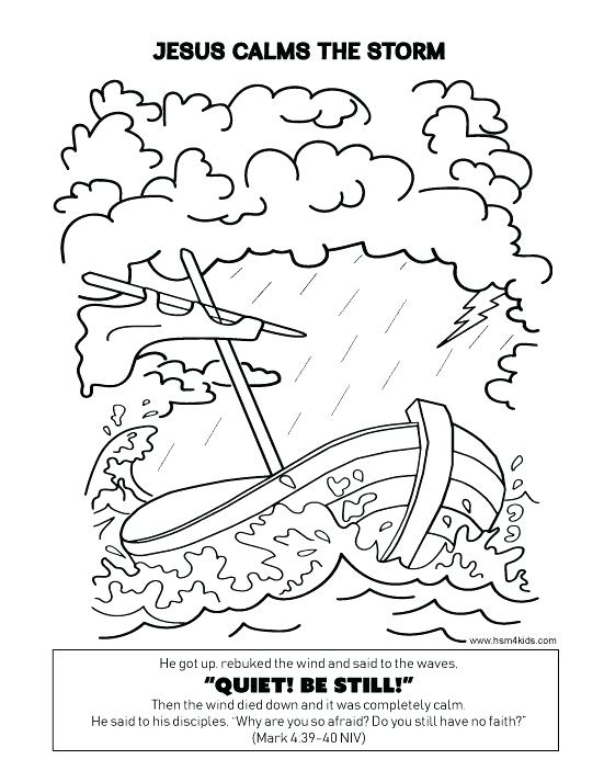 551x713 Jesus Calms The Storm Coloring Page Calms The Storm Coloring Sheet