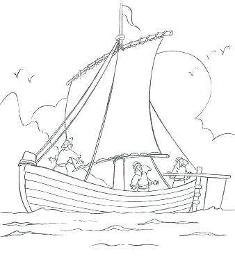 338x386 Jesus Calms The Storm Coloring Pages Calms The Storm Coloring Page