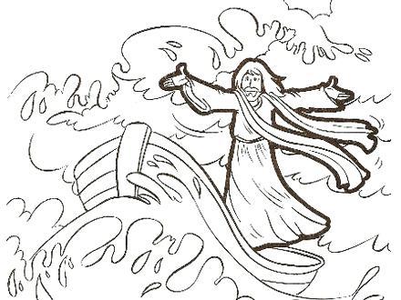 photograph regarding Jesus Calms the Storm Printable called Jesus Calms The Storm Coloring Webpage at