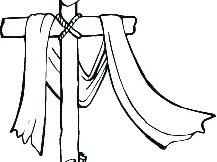440x330 Coloring Page Cross Cross Coloring Pages Printable Cross Coloring