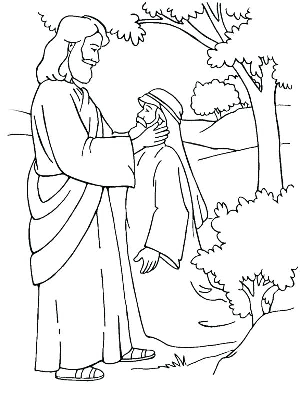 600x802 Jesus Christ Coloring Pages Delectable Color Pages Of Jesus More