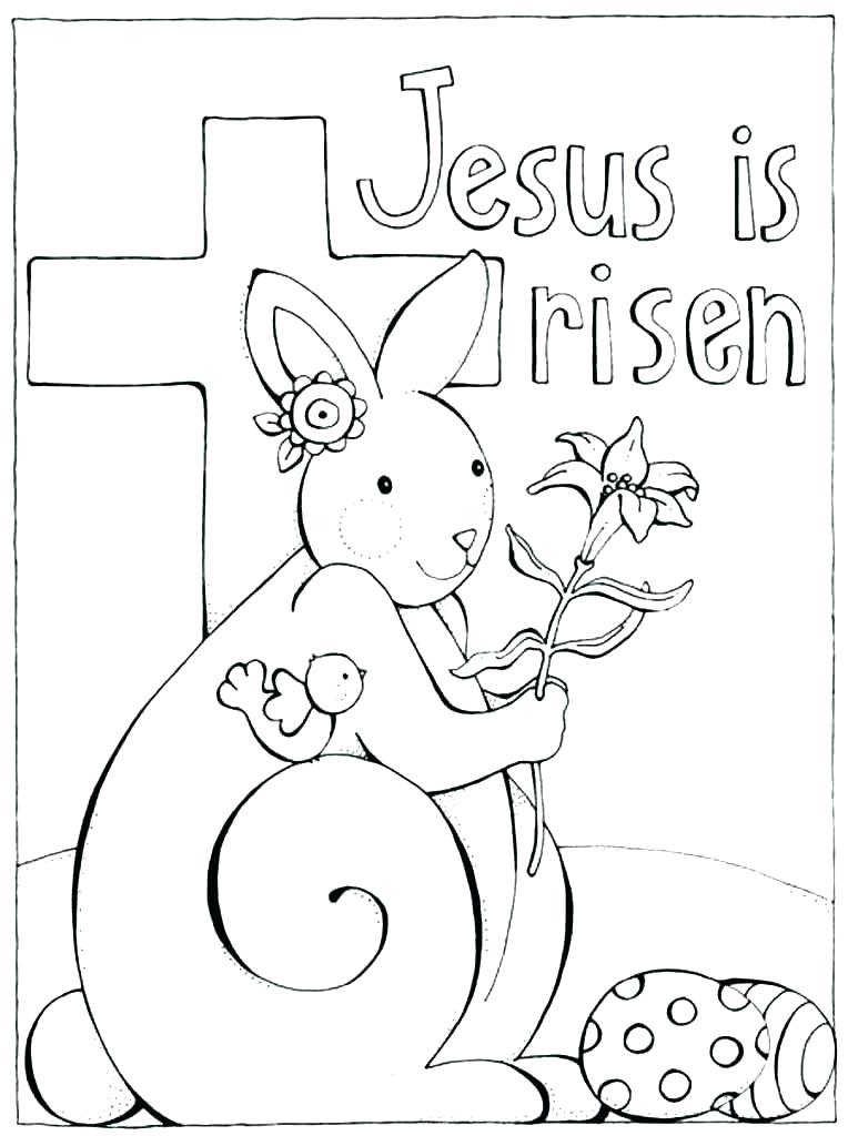 764x1024 Easter Coloring Pages Jesus Christ