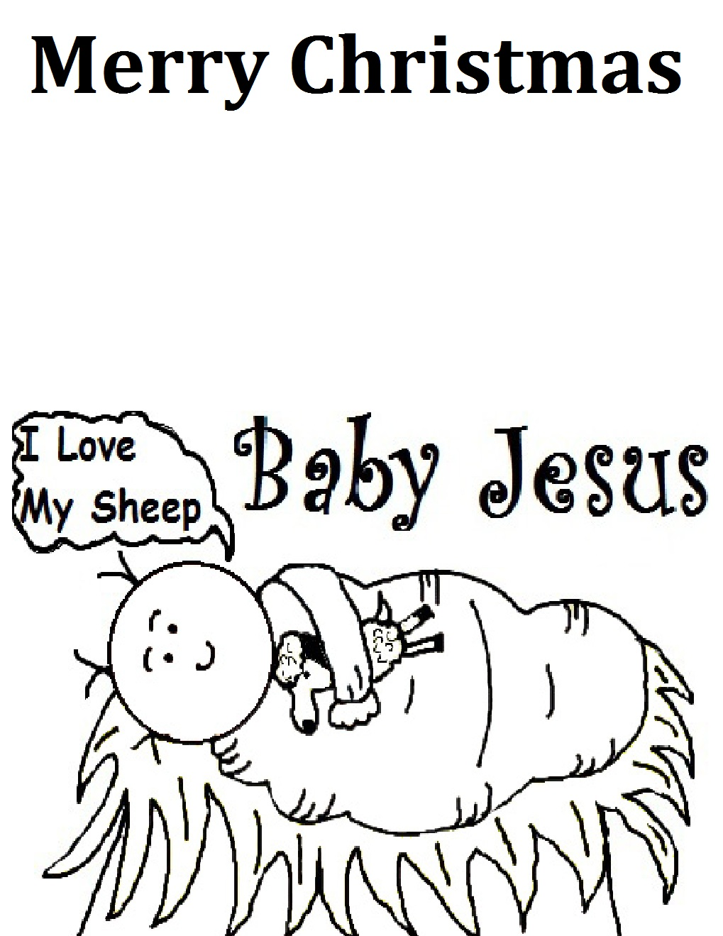 Collection Coloring Page Of Baby Jesus Pictures ...