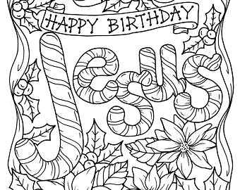 Christian Christmas Coloring Pages   Coloringnori ...