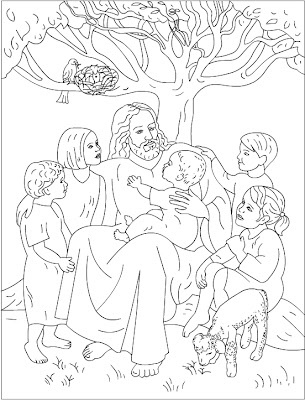 Jesus Coloring Pages For Kids at GetDrawings.com | Free for ...