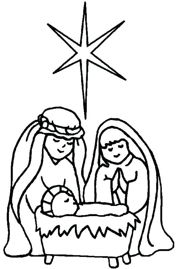 600x870 Baby Jesus Coloring Pages Interesting Ideas Baby Coloring Pages