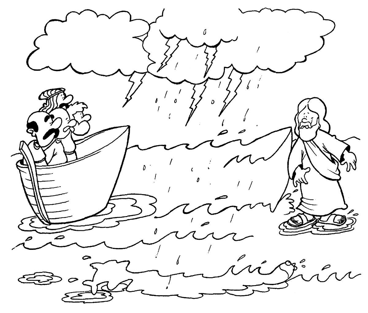 The best free Baptized coloring page images. Download from 14 free ...