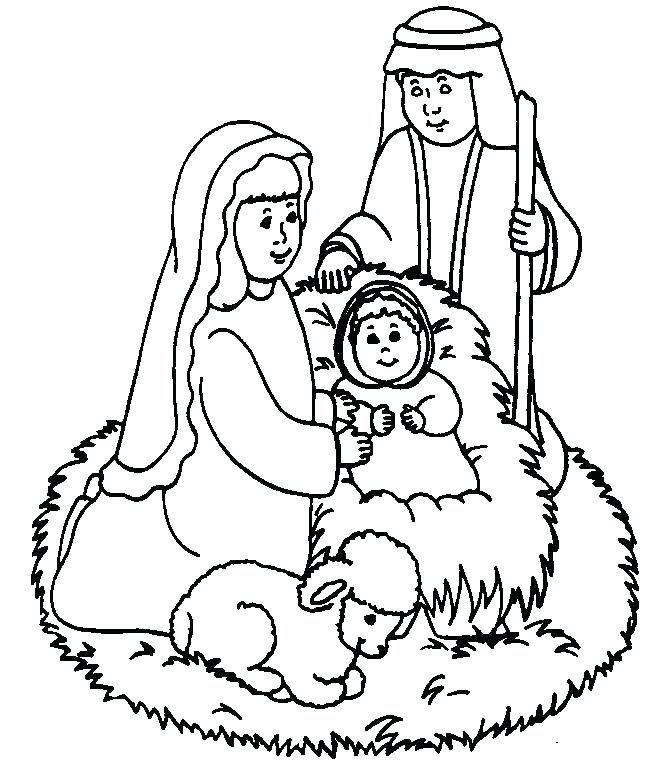 671x779 Jesus Coloring Page Printable Cute Baby Coloring Pages Baby Jesus