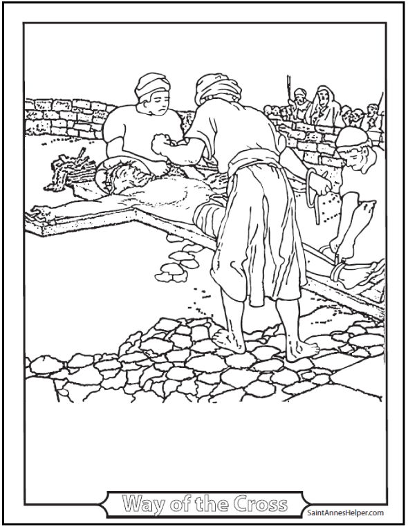 590x762 Bible Story Coloring Pages Creation, Jesus Mary, Miracles