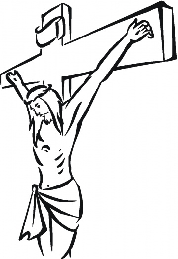 360x525 Jesus Christ Crucifixion Printable Coloring Pages For Kids