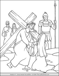236x305 Coloring Pages Jesus Died On The Cross Fresh Stations Of The Cross
