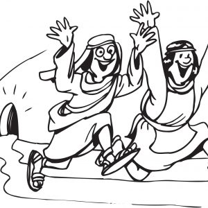 300x300 Coloring Pictures Of Jesus Empty Tomb Inspiration Resurrection