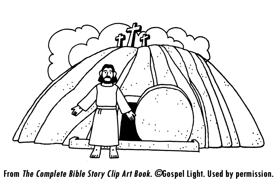 900x600 Empty Tomb Coloring Page Az Coloring Pages Coloring Page Jesus