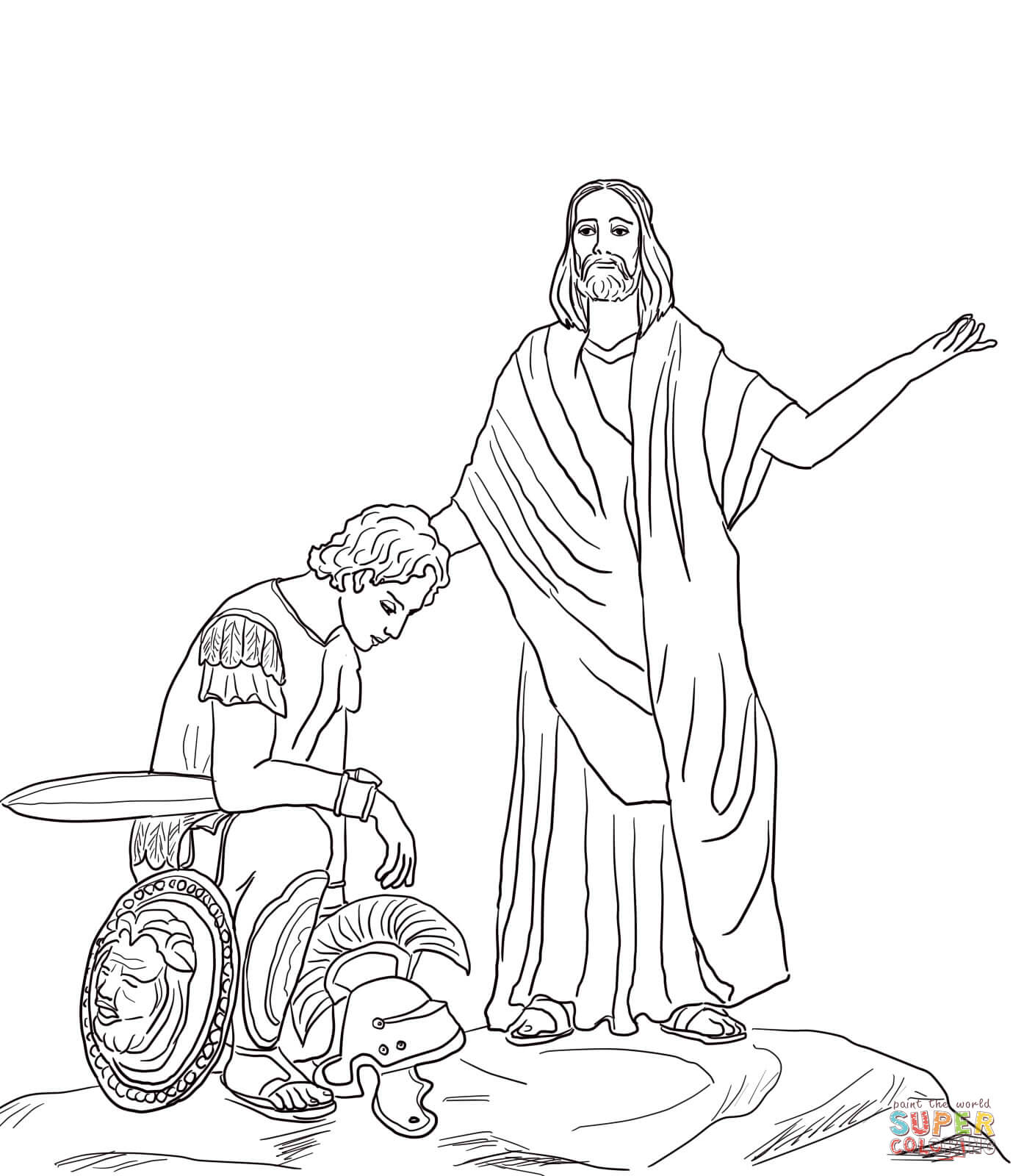 1379x1600 Healing Coloring Sheets Jesus Pages Of Page Pictures To Pin