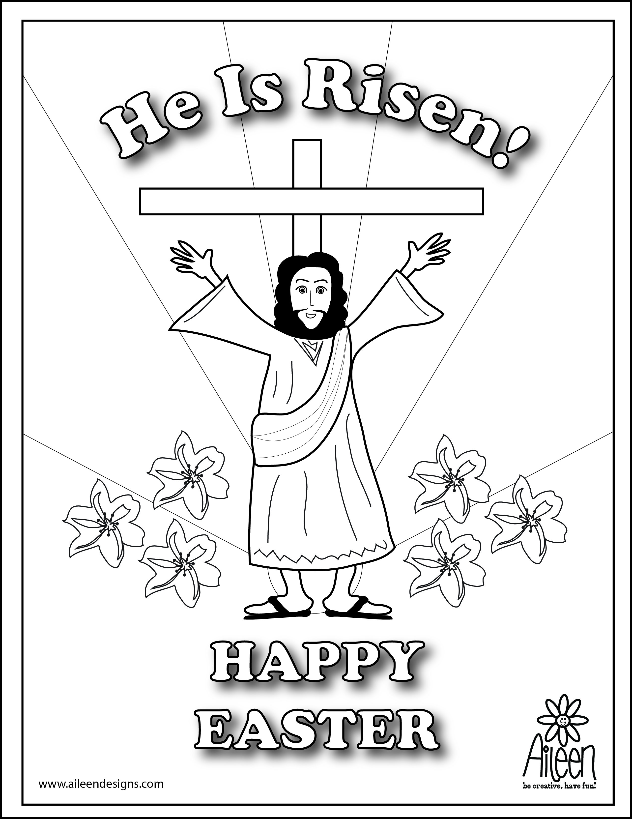 2550x3304 He Is Risen Coloring Page Theotix Me New