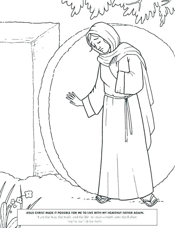 600x780 Jesus Resurrection Coloring Pages Resurrection Coloring Page Jesus