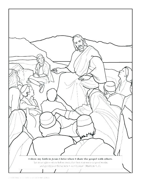 550x714 Jesus Heals Coloring Page Healing Miracles Coloring Pages Heals