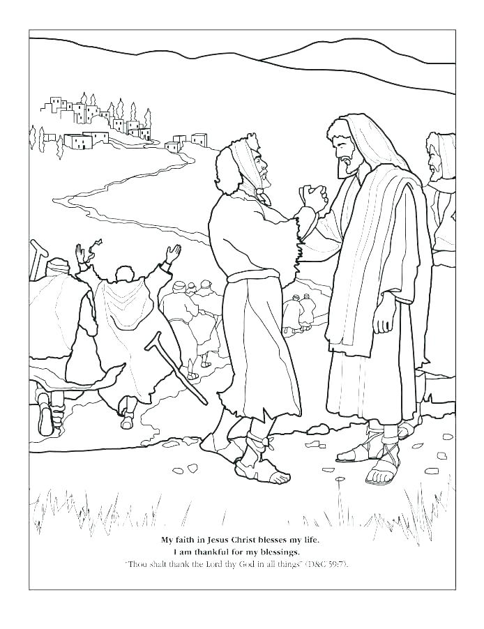 694x902 Jesus Heals A Blind Man Coloring Page Heals Coloring Page Sick