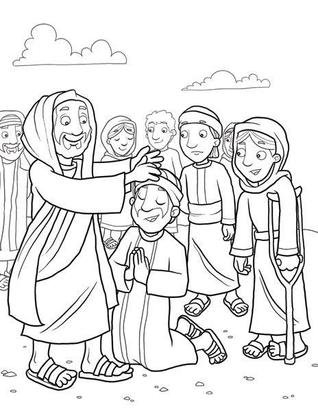 464x600 Jesus Heals A Leper Jesus Heals The Sick Bible Class