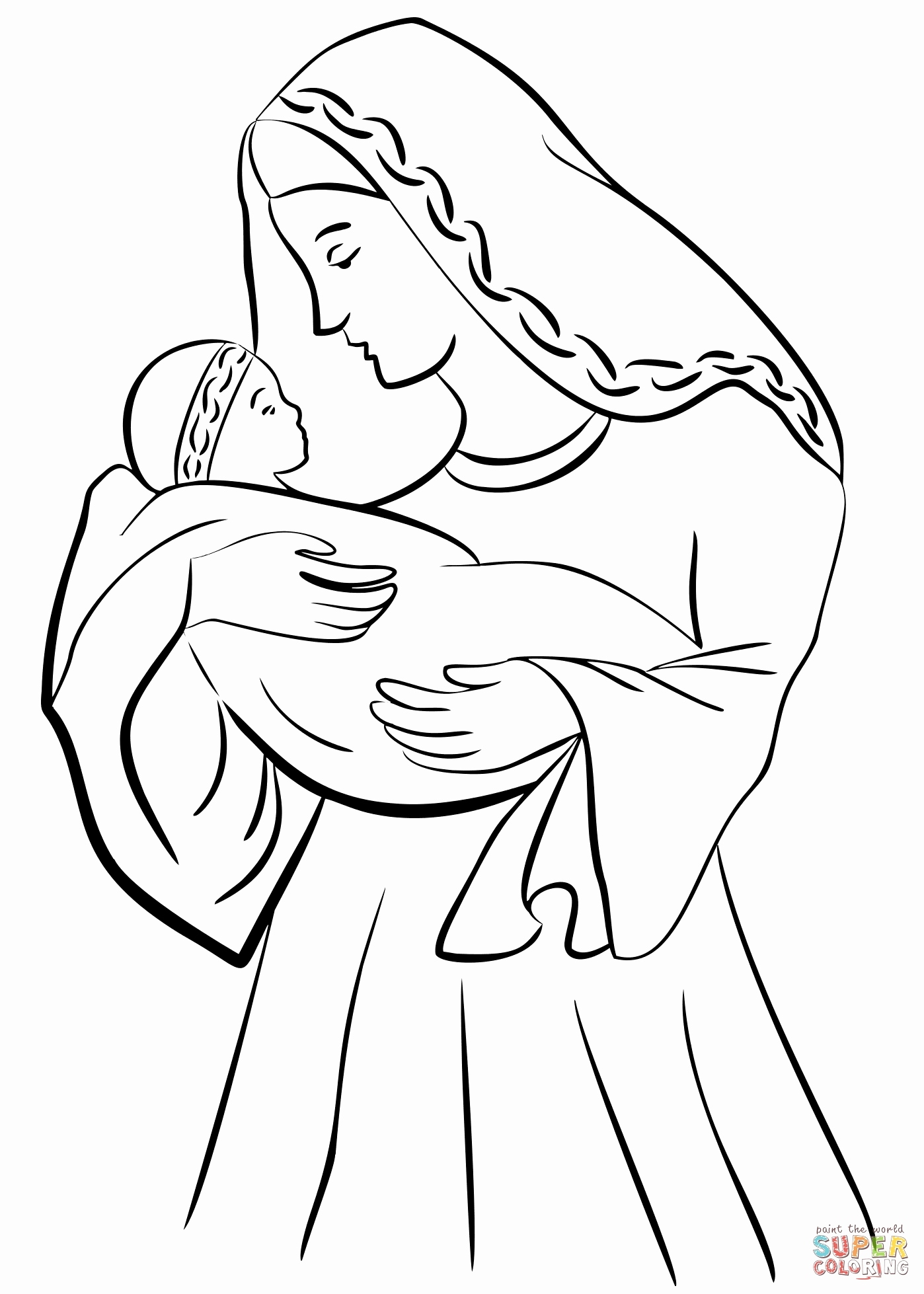 1398x1958 Free Coloring Pages Of Baby Jesus In A Manger Photos Nativity