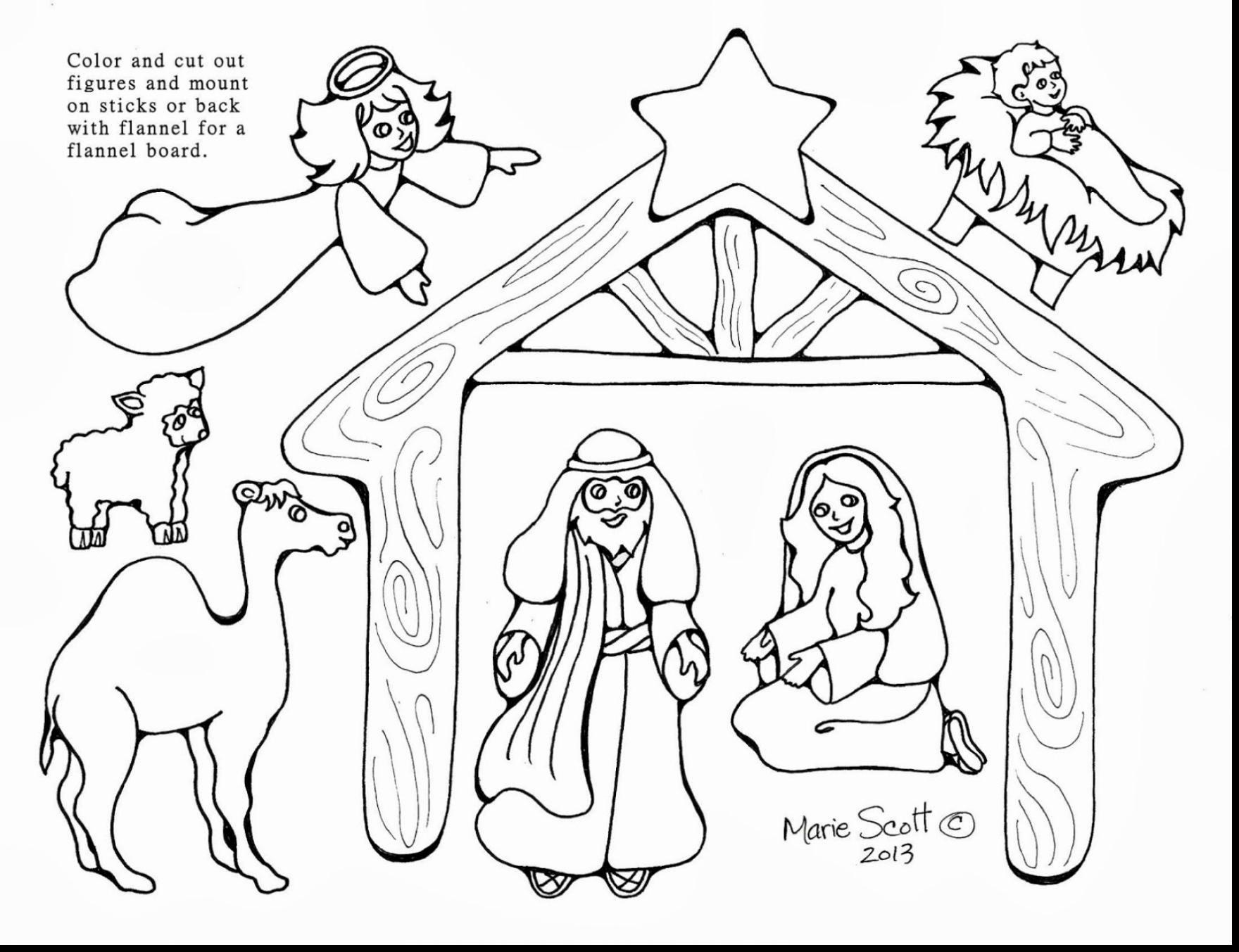 1760x1353 Nativity Scene Coloring Pages Elegant Baby Jesus Manger Coloring