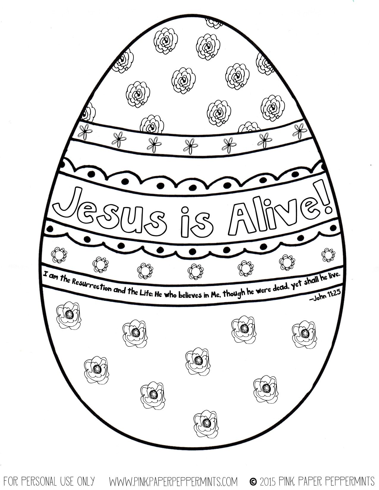 1275x1650 Awesome Religious Easter Coloring Pages For Adults Jesus Is Alive