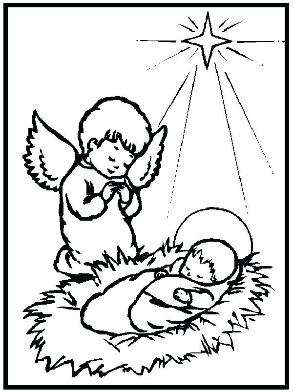 600x803 Jesus Is Born Coloring Pages Birth Coloring Pages And Coloring