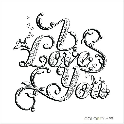 Jesus Loves You Coloring Page
