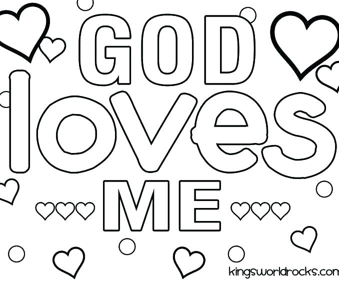 Jesus Loves You Coloring Page at GetDrawings.com | Free for ...