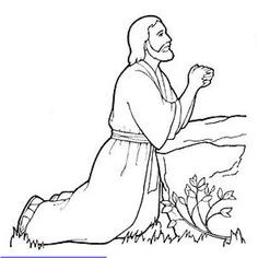 236x236 Coloring Pages Of Jesus Praying In The Garden New Free Printable