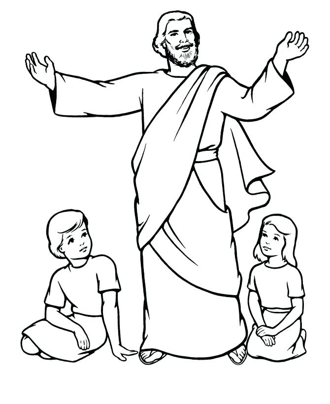 670x820 Free Printable Jes Spectacular Jesus Printable Coloring Pages
