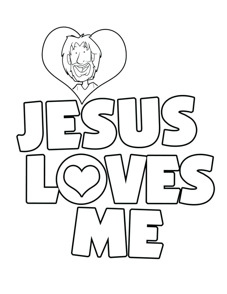 742x960 Jesus Loves The Children Coloring Page Loves Children Coloring