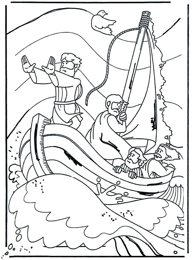 Jesus Teaching Coloring Page