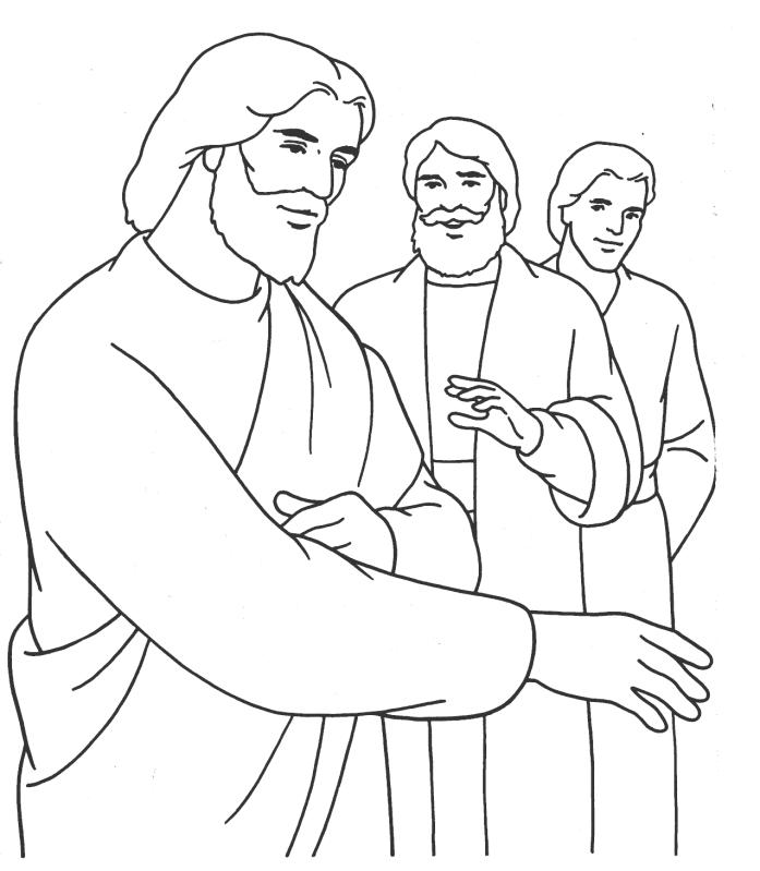 697x799 Teaching In The Temple Coloring Page Jesus In The Temple Coloring