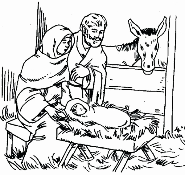 600x568 Jesus Is Tempted Coloring Page Photograph Birth Jesus Coloring