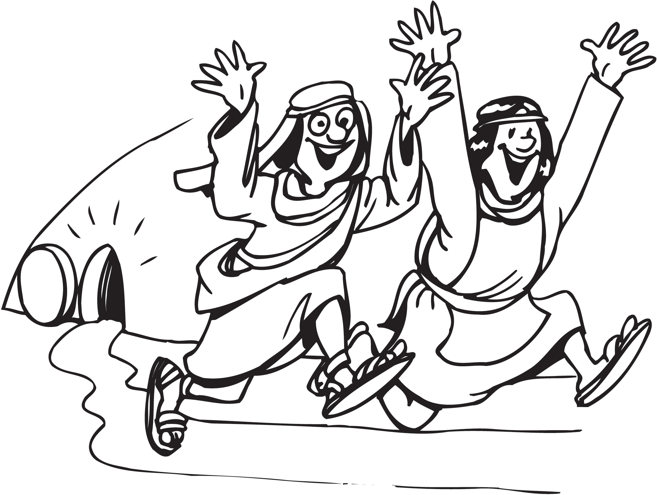 2108x1588 Jesus Resurrection Coloring Page Easter Pages The Red Headed