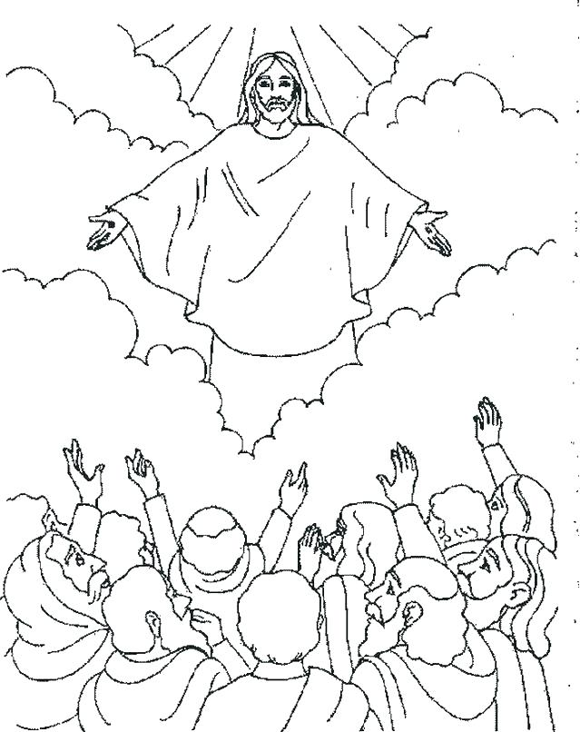 639x806 Jesus Resurrection Coloring Pages Bible Coloring Pages