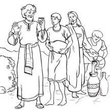 216x216 Homely Ideas Turn Photos Into Coloring Pages Of Jesus Is Water