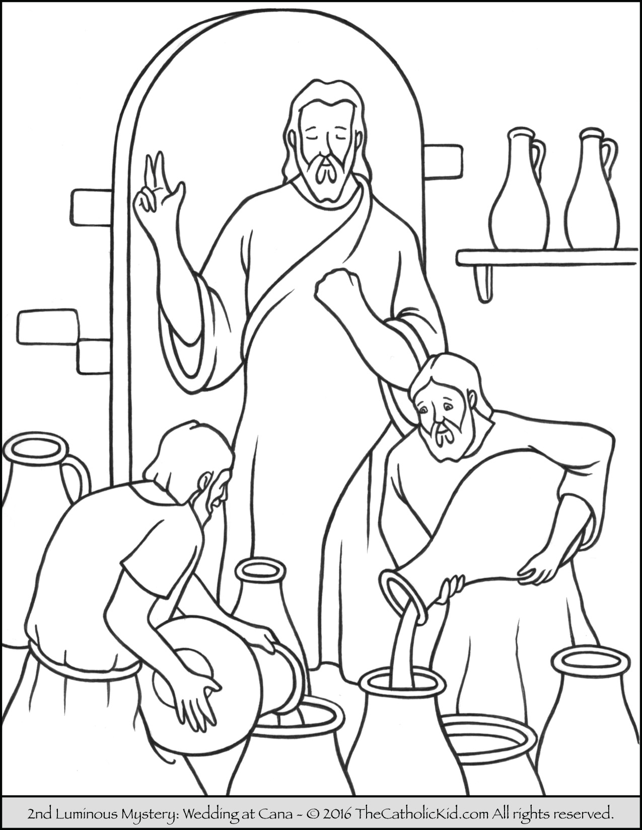 1275x1650 Jesus Turns Water Into Wine Coloring Page Unique Jesus Turns Water