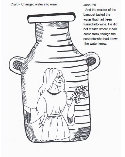 412x519 Jesus Turns Water Into Wine Craft Best Z Cc Water Into Wine