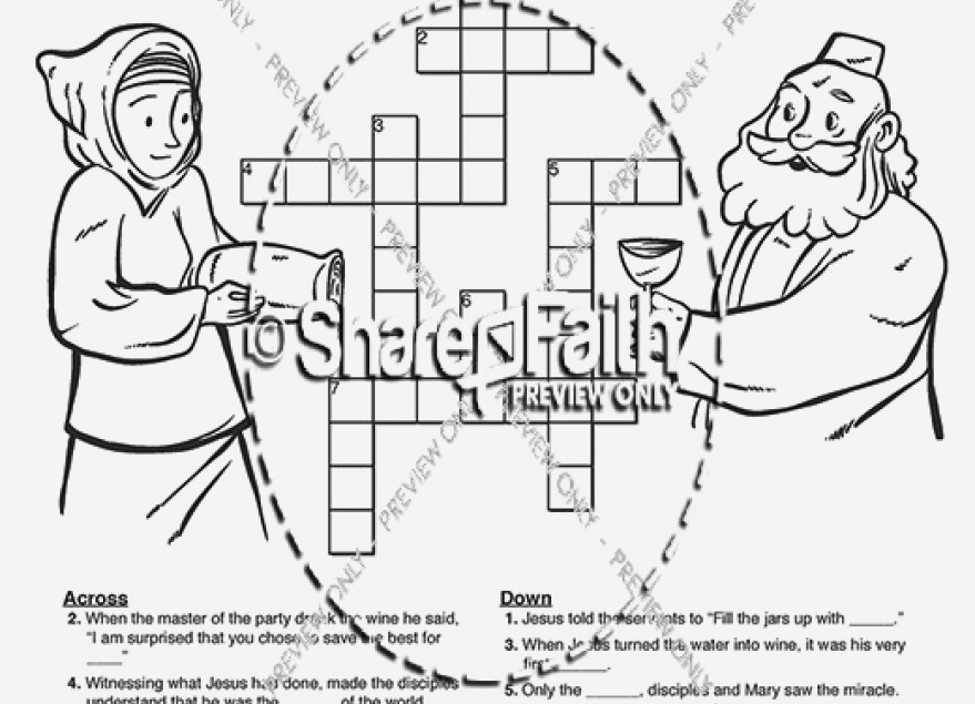 879x635 Modern Jesus Turns Water Into Wine Coloring Page Inspiration